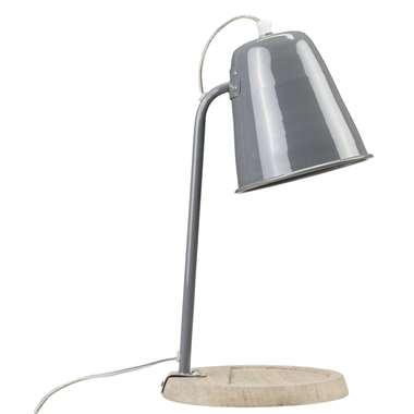 Tafellamp Oslo – grijs | 8714901415185