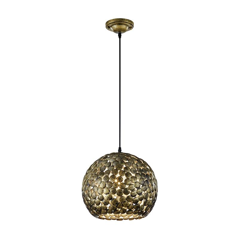 Vintage ronde hanglamp oud brons – Frieda | Trio Leuchten | 4017807292541