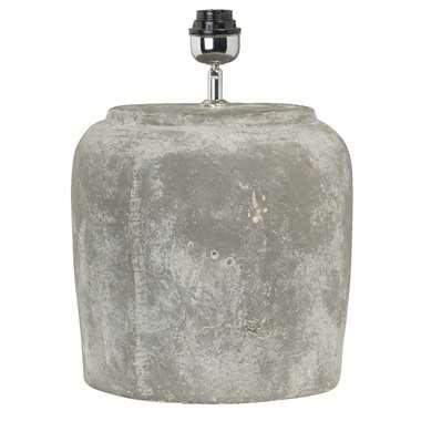 Voet tafellamp Lara – grijs – 30×42 cm | 8714901328102