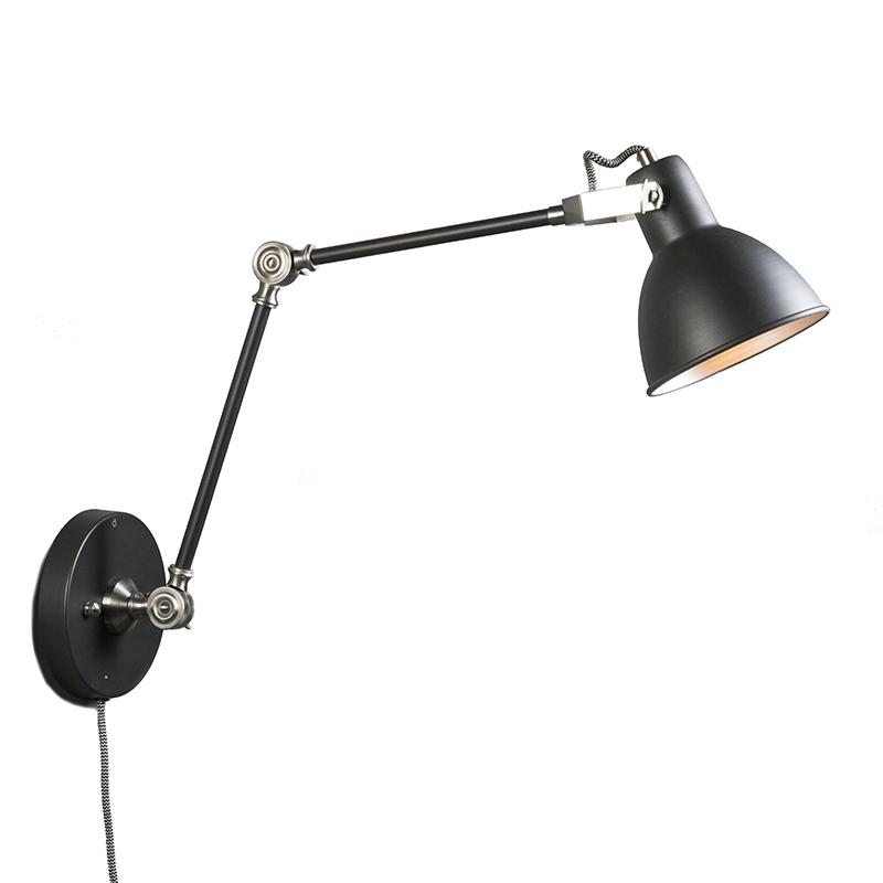 Wandlamp Dazzle lang grijs | QAZQA | 8718881040757