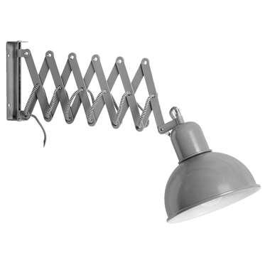 Wandlamp Edgar – grijs | 8716350075231