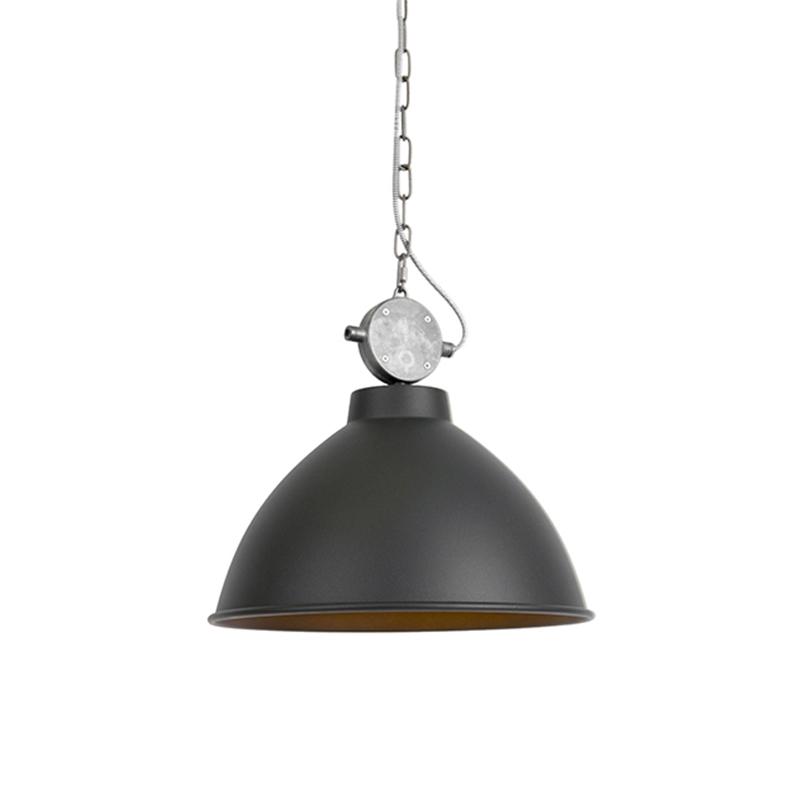 Hanglamp Anterio 38 zwart | QAZQA | 8718881066818