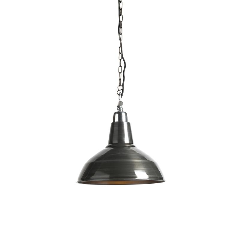 Hanglamp Goliath large zink | QAZQA | 8718881067570