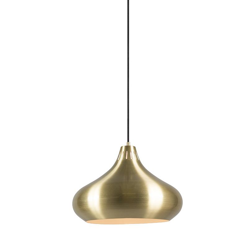 Hanglamp Odyssey messing | QAZQA | 8718881057922