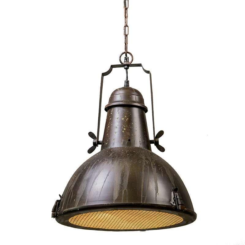 Hanglamp Petrol I rustiek | QAZQA | 8718881022791