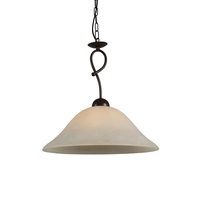 Hanglamp Sanremo 45 scavo glas   QAZQA   8718881066955