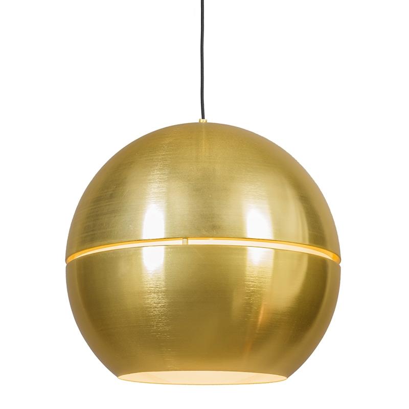 Hanglamp Slice 50 goud | QAZQA | 8718881031700