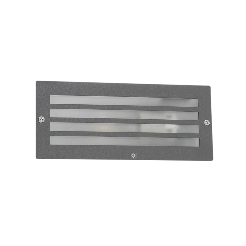 Inbouwlamp Hurricane donker grijs | QAZQA | 8718881057717