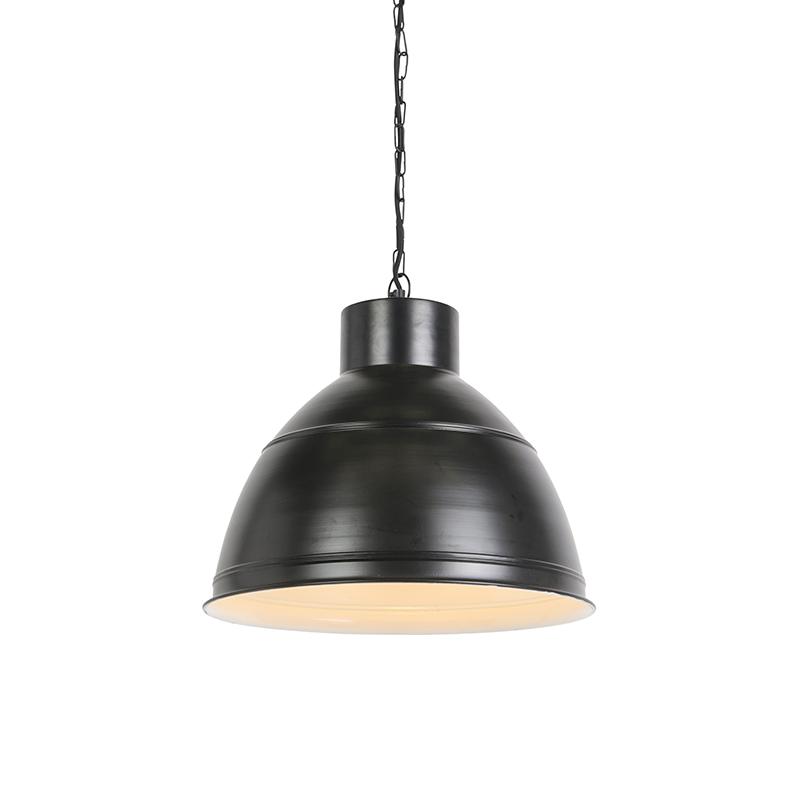 Industriele hanglamp zwart – Dexter | QAZQA | 8718881068256