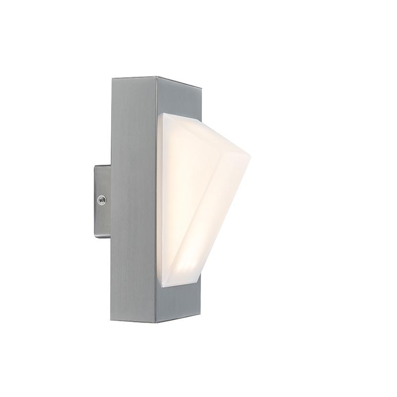 Moderne buitenlamp wand staal incl. LED – Tori | Trio Leuchten | 4017807297416