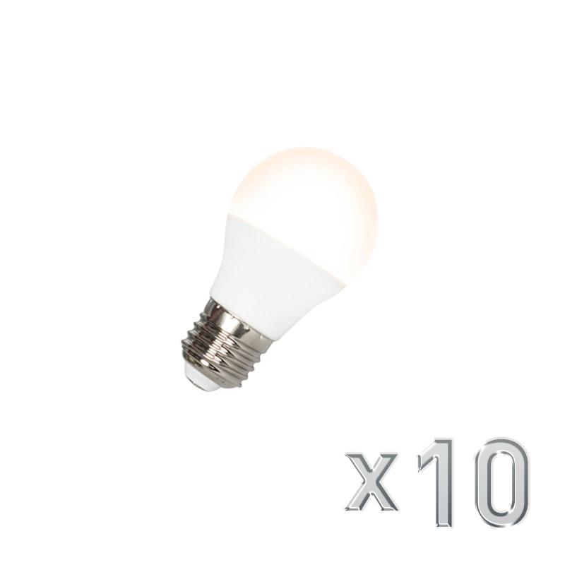 Set van 10 LED lamp G45 E27 5W 3000K   QAZQA   8718881062025