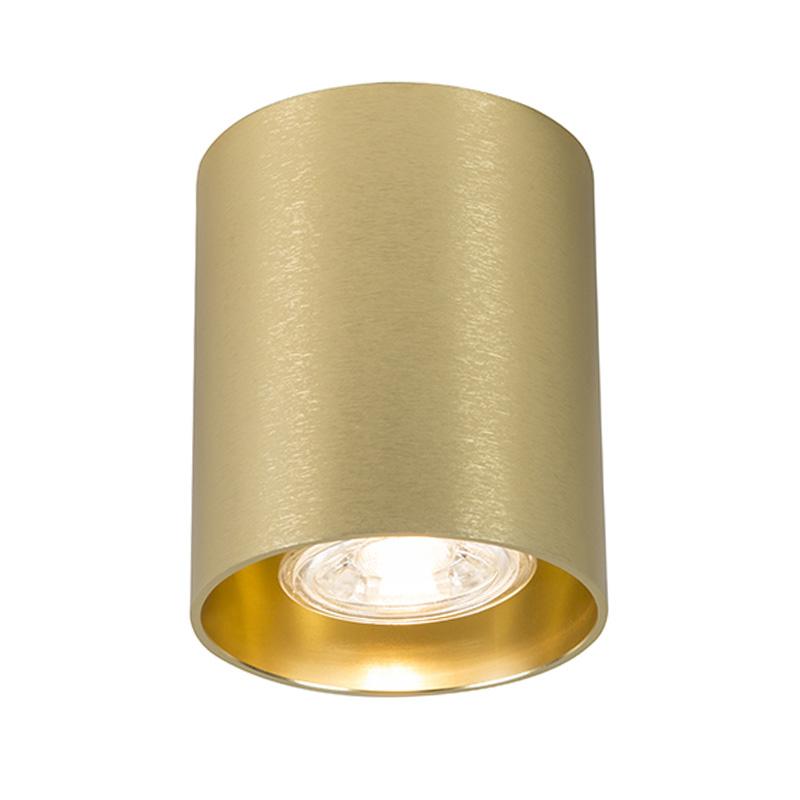Spot Tubo 1 goud | QAZQA | 8718881059988