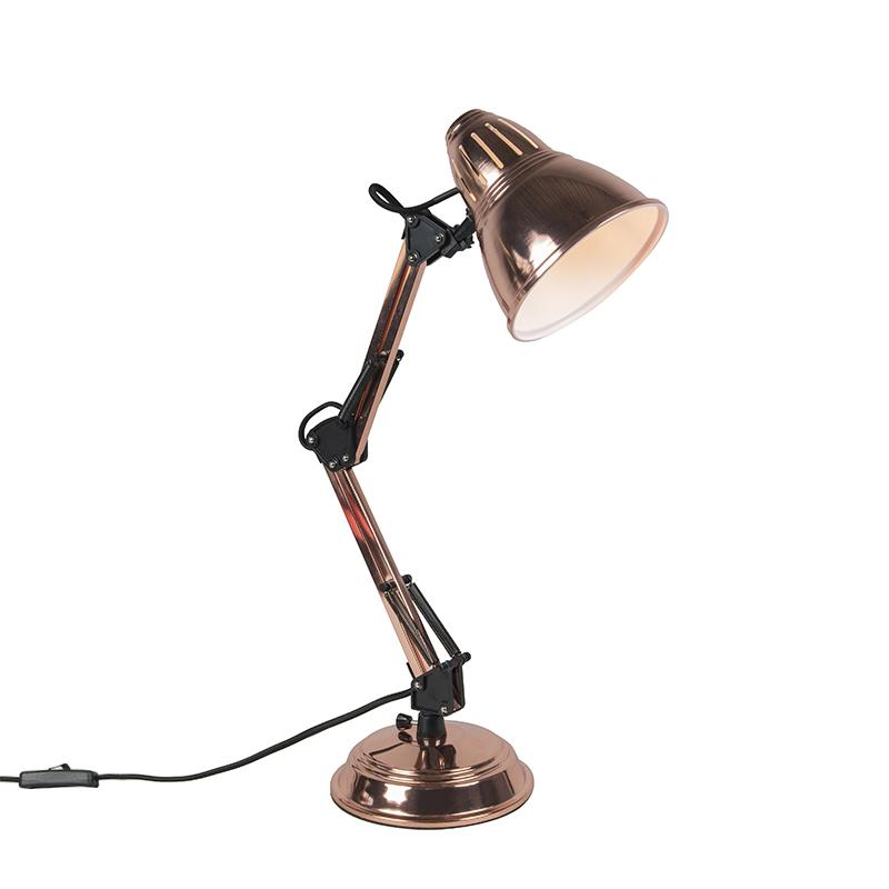 Tafellamp Buzz koper | QAZQA | 8718881053740