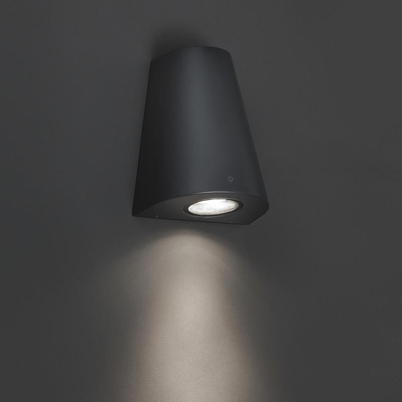 Wandlamp Dreamy donker grijs | QAZQA | 8718881057762