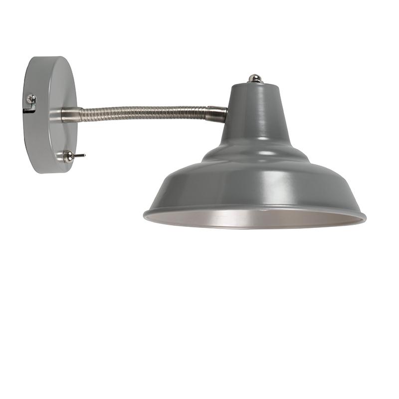 Wandlamp Pixa grijs | QAZQA | 8718881053689