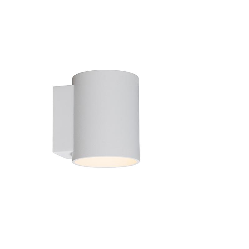 Wandlamp Sola rond wit   QAZQA   8718881031380