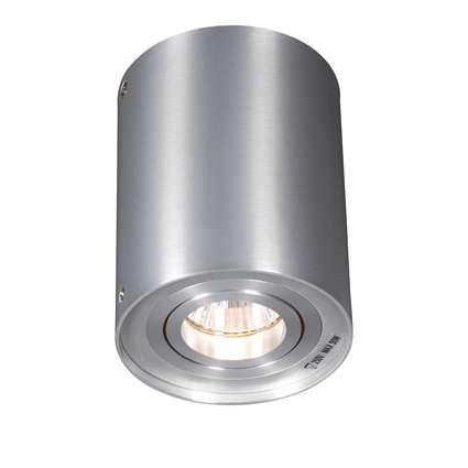 Plafondspot Rondoo 1 up aluminium   QAZQA   8718881003134