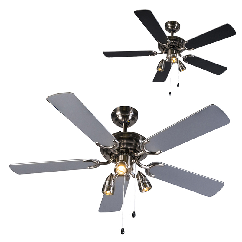 Plafondventilator Mistral 42 grijs | QAZQA | 8718881045899