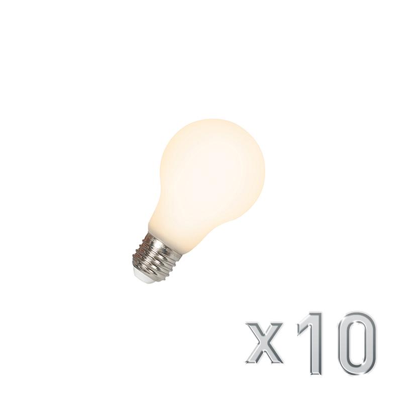 Set van 10 LED E27 240V 4W 380lm dimbaar | Calex | 8718881065217