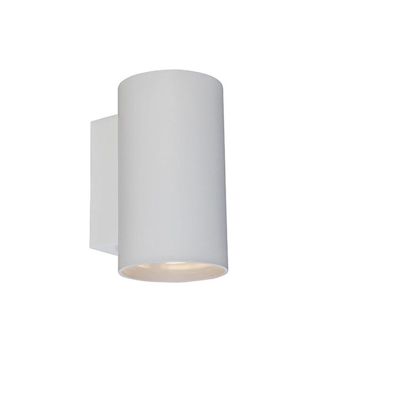 Wandlamp Sandy rond wit   QAZQA   8718881046278