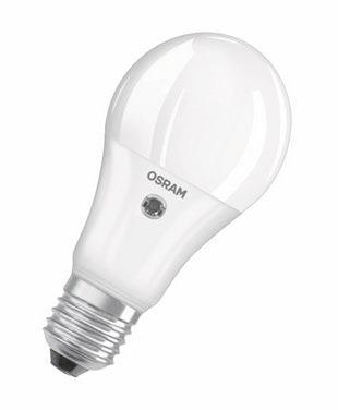 Osram Parathom Classic E27 A 8.5W 827 Mat | met Sensor – Extra Warm Wit – Vervangt 60W | Osram | 4058075100831