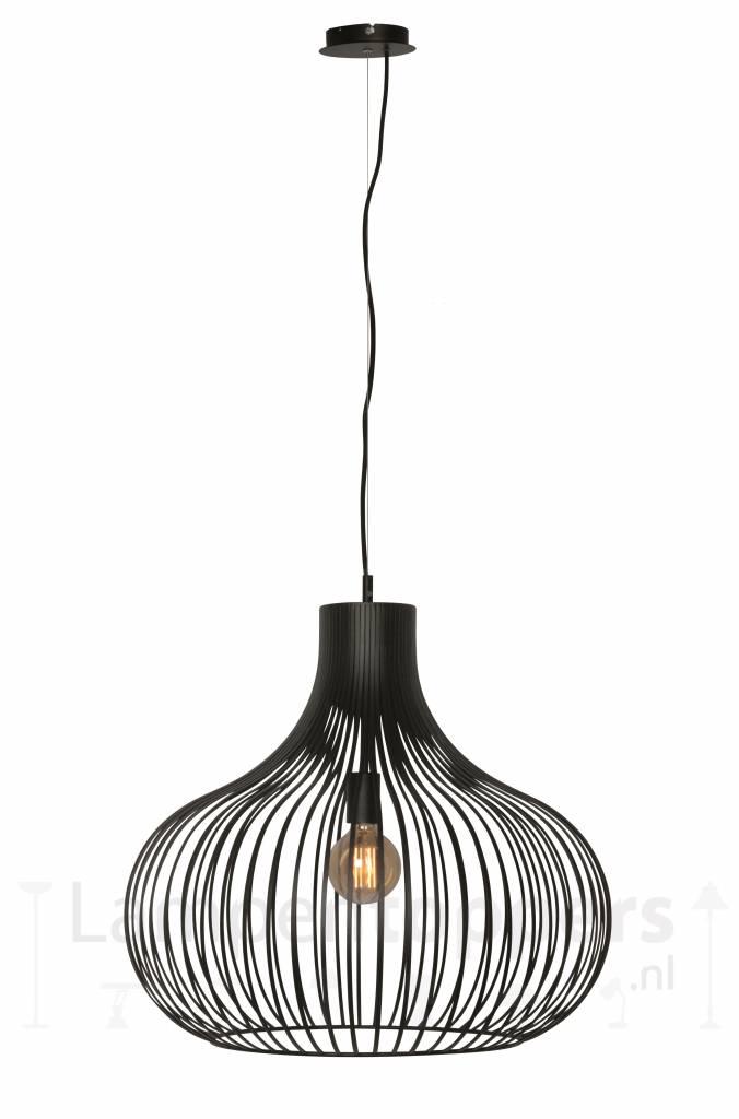 Hanglamp Aglio Mat Zwart 60cm |  | 8718444958321