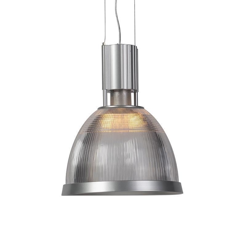 Industriele ronde hanglamp aluminium – Industry Rim | QAZQA | 8718881006517