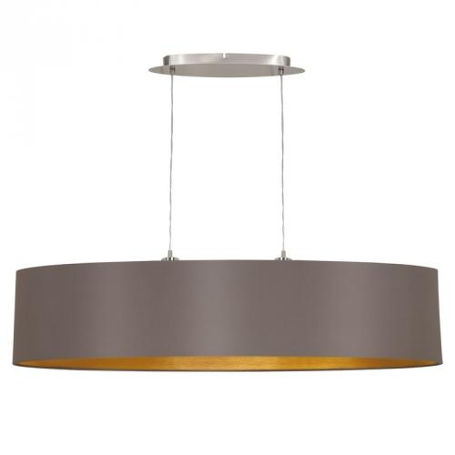 Eglo Landelijke hanglamp Maserlo Bruin/Goud 31619 | 9002759316198