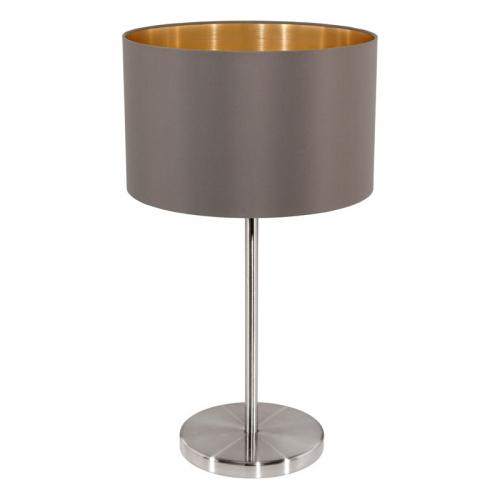Eglo Landelijke tafellamp Maserlo Bruin/Goud 31631 | 9002759316310
