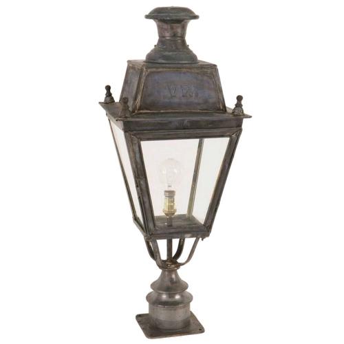 Limehouse Landelijk buitenlamp Balmoral Short Pillar handgemaakt 425SP | 8716803507081