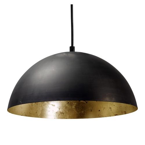 Masterlight Grote zwarte hanglamp Industria Gold 30 2199-30-08-S | 8718121120454