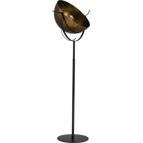 Masterlight Koperen vloerlamp Larino 60 1105-10-10 | 8718121152288