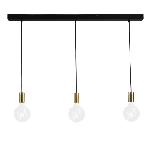 Masterlight Messing pendel hanglamp Concepto 2237-02-100-3 | 8718121142371