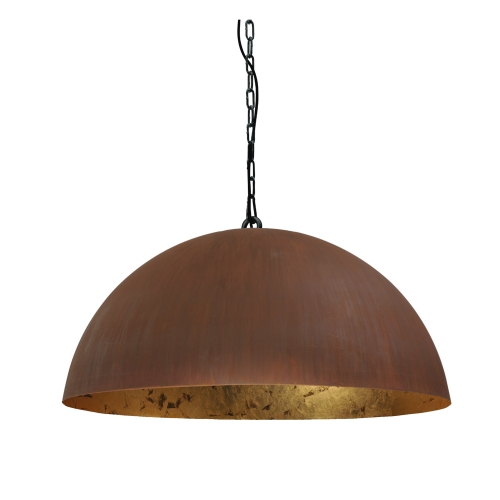 Masterlight Stoere hanglamp roest Industria Gold 80 2201-25-08-K   8718121120201