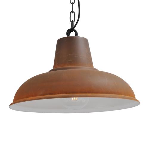 Masterlight Stoere roestbruine hanglamp Industria 48 2047-25-K | 8718121138916