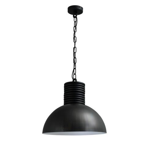 Masterlight Zwarte industrielamp Industria Gunmetal 40 2198-30-06-R-K   8718121144092