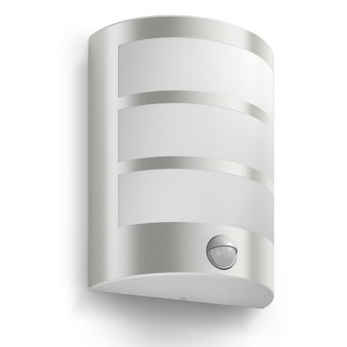 Philips Buitenlamp rvs Python met sensor 173244716 | 8718696131657