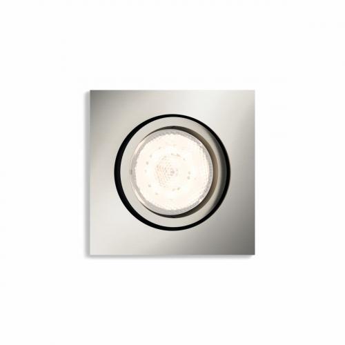 Philips Warm Glow inbouwspot Shellbark 5039117P0 | 8718696160442
