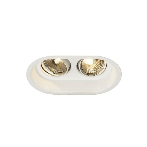 SLV – verlichting Inbouwspot Horn 2 GU10 113111 | 4024163131667