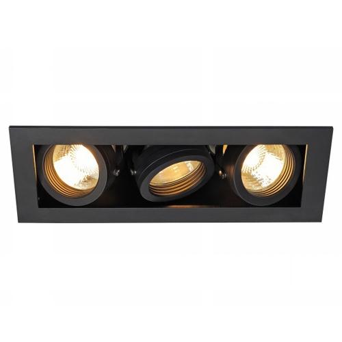 SLV – verlichting Inbouwspot Kadux 3 GU10 115530 | 4024163151504