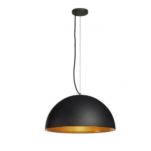 SLV – verlichting Trendy hanglamp Forchini M PD-1 zwart SLV. 155930 | 4024163136976