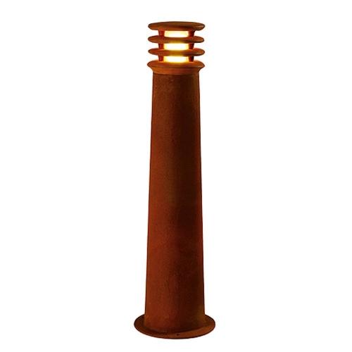 SLV – verlichting Unieke roestige buitenlamp Rusty 70 rond 229021 | 4024163090162