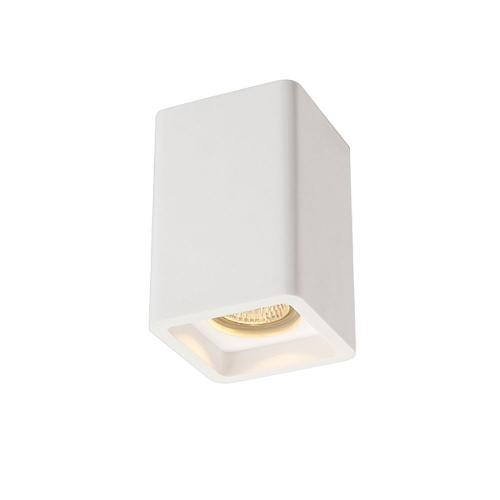 SLV – verlichting Vierkante opbouwspot Plastra CL-1 148004 | 4024163137249