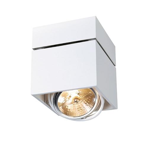 SLV – verlichting Vierkante plafondspot Kardamod Surface Square QRB111 117121 | 4024163131704