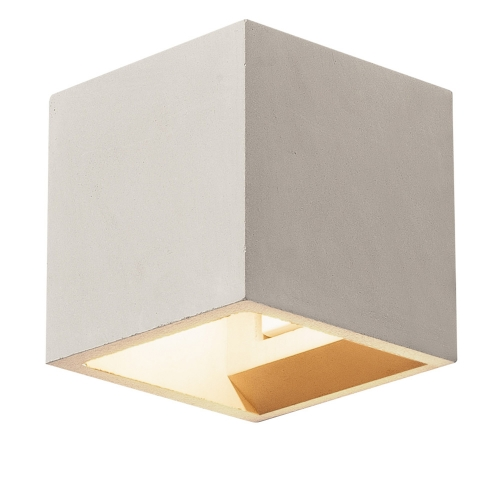 SLV – verlichting Wandlamp Solid Cube Up-Down 1000910 | 4024163192026