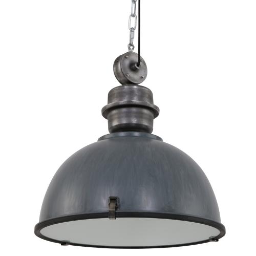 Steinhauer Hanglamp Bikkel XXL industrieel 7834GR | 8712746106718