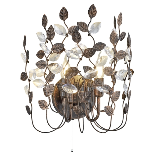 Trio international Decoratieve wandlamp Napoli 210370228 | 4017807369199