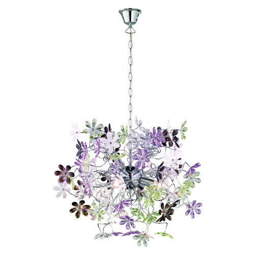 Trio international Moderne Hanglamp Flower R10014017 | 4017807233988