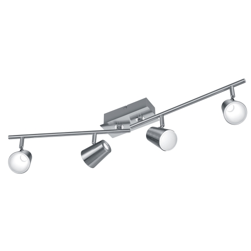 Trio international Richtbare plafondlamp Narcos nikkel 873110407 | 4017807302639