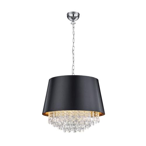 Trio international Schemer hanglamp Loreley met kristal 309300302 | 4017807354102